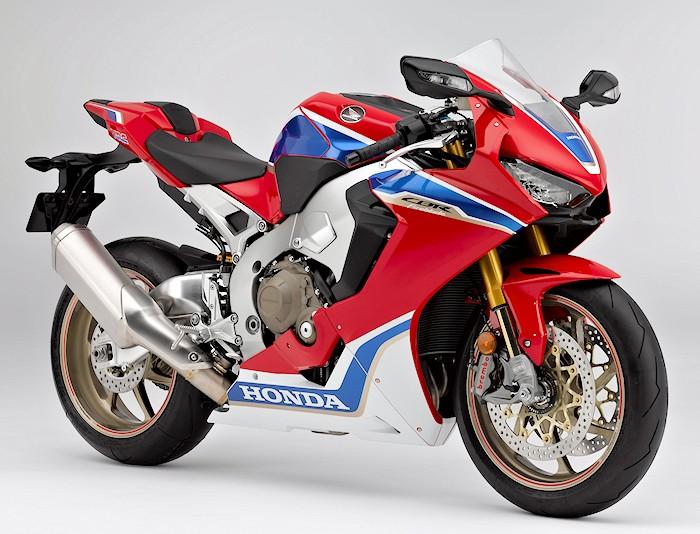 Honda cbr 1000 rr fireblade sp2 2017 fiche moto for Yamaha rr 1000