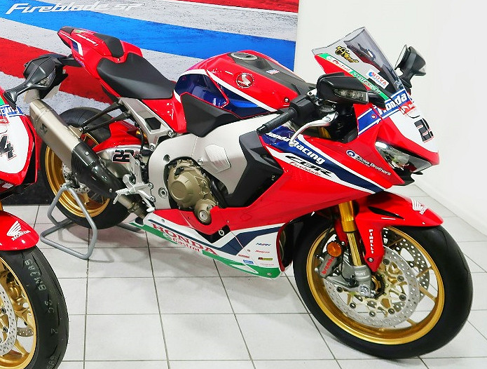 Honda CBR 1000 RR Fireblade SP BSB replica