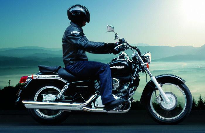 moto honda 125 shadow
