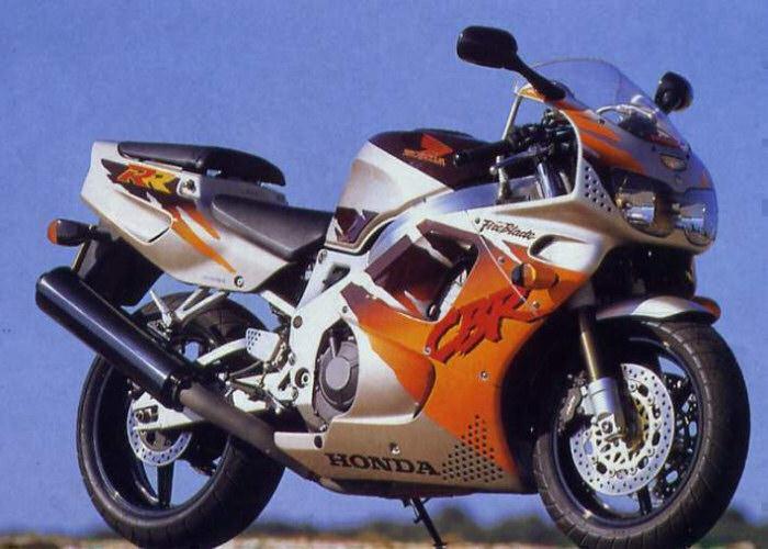 moto honda 900