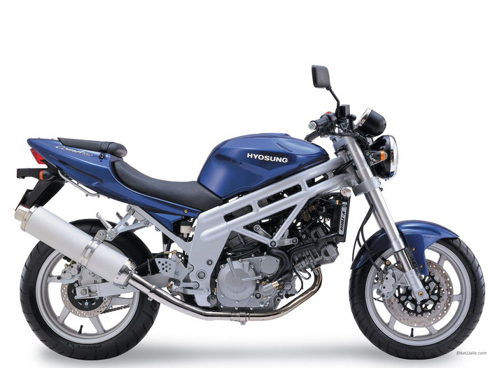 Hyosung COMET 650 2004 - 8