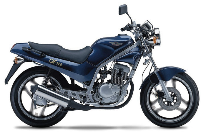 Hyosung 125 GF 2002 - 1