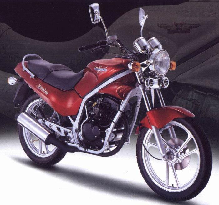 Hyosung 125 GF 2002 - 2