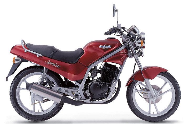 Hyosung 125 GF 2002 - 3