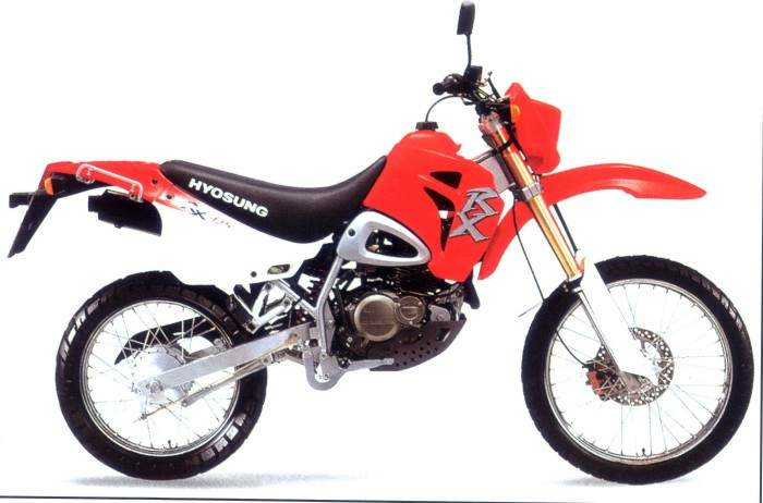Hyosung XRX 125 2004 - 2
