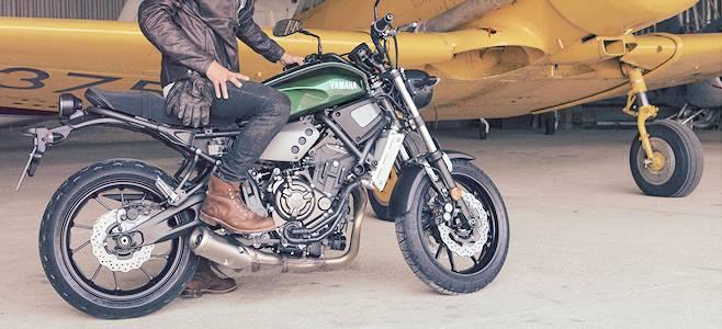 Fun et vintage avec la Yamaha XSR 700