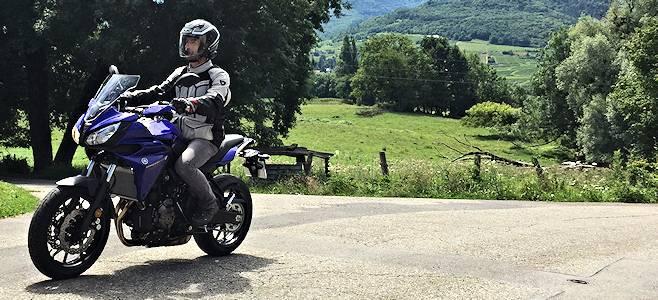 La Yamaha 700 Tracer à l'essai.
