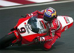 Abe Norifumi en course