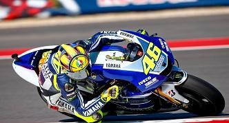 Rossi Valentino en course