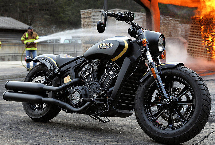 Indian 1133 SCOUT Bobber Jack Daniel