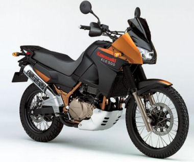 moto kawasaki 2005