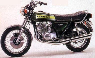 moto kawasaki 750 h2