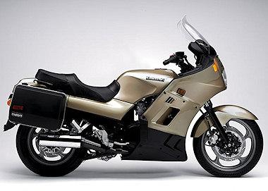 moto Kawasaki 1000 GTR1987