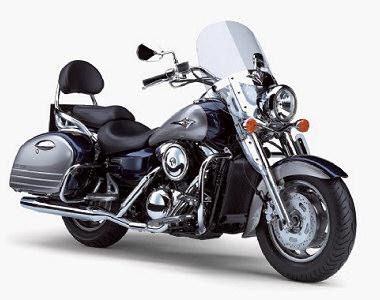 moto kawasaki vn 1600 tourer occasion