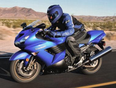 moto Kawasaki 1400 ZZR 2008