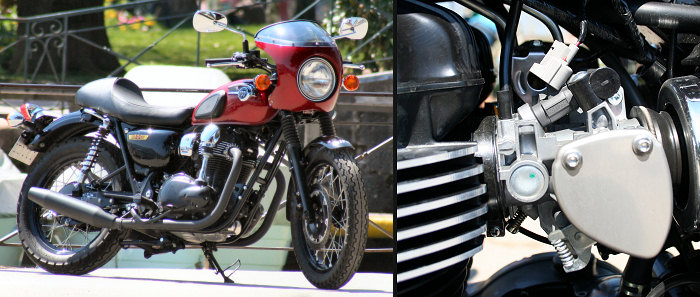 Kawasaki W 800 Cafe Style Special Edition
