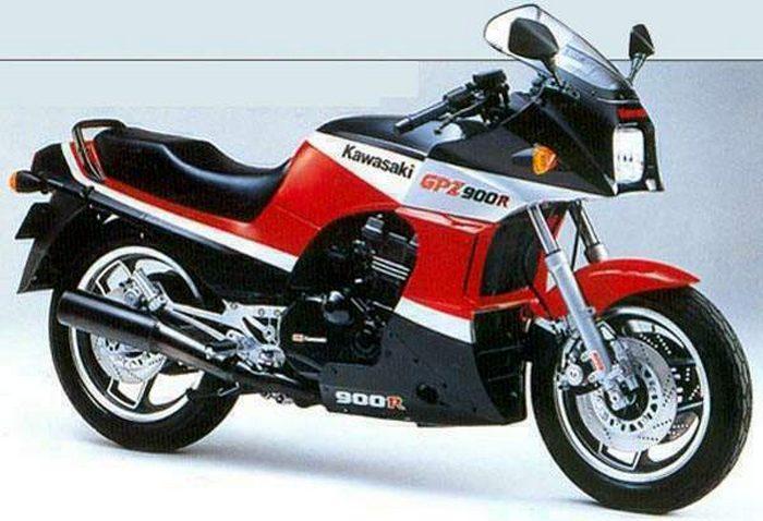 Kawasaki gpz 900 r 1984 galerie moto motoplanete for Que represente 500 mo
