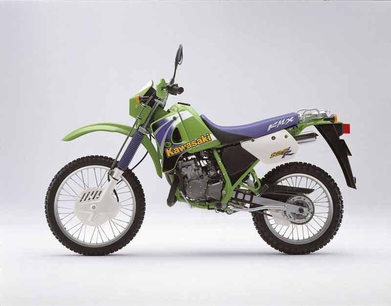 Kawasaki KMX 125 1998 - Galerie moto - MOTOPLANETE