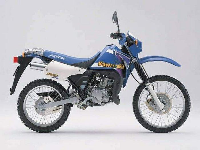 Kawasaki KMX 125 1986 - 7