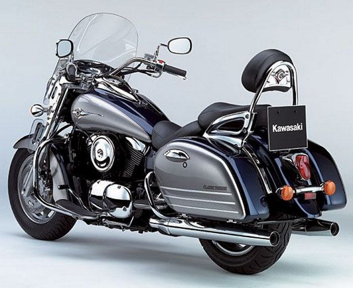 kawasaki vn 1600 classic tourer 2007 galerie moto. Black Bedroom Furniture Sets. Home Design Ideas