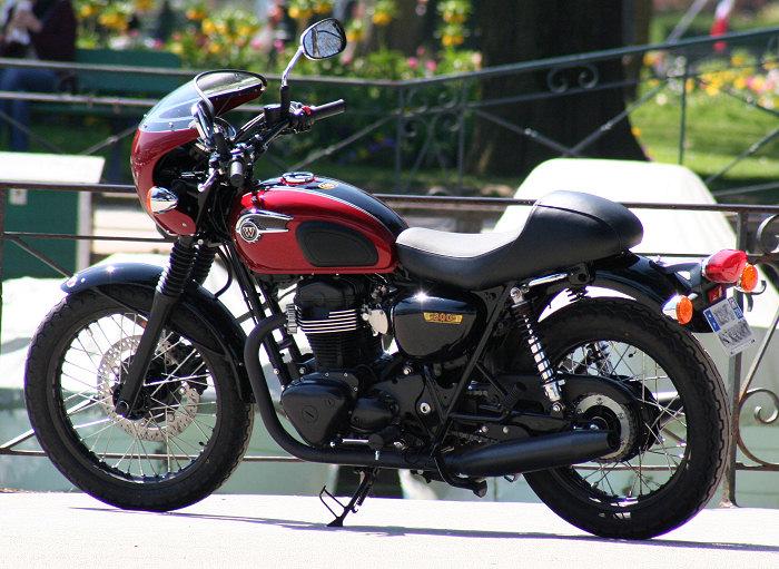 Kawasaki W 800 Cafe Style 2013 - 9