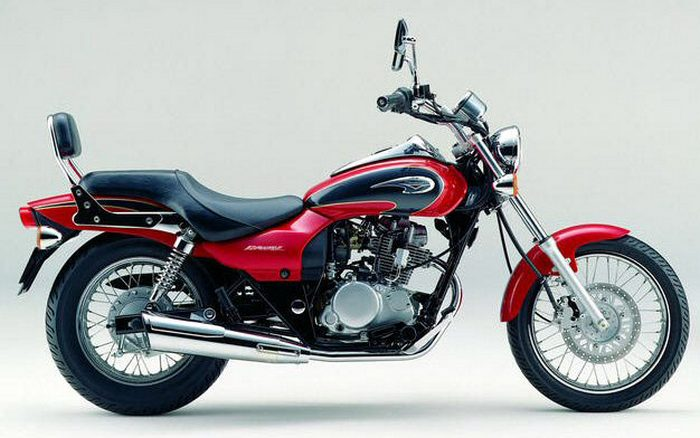 miniature Kawasaki 125 ELIMINATOR 1997 - 12