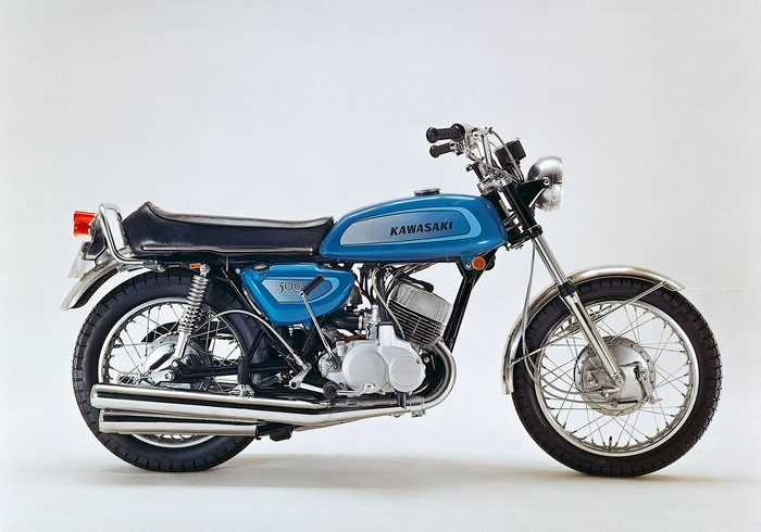 moto kawasaki h1