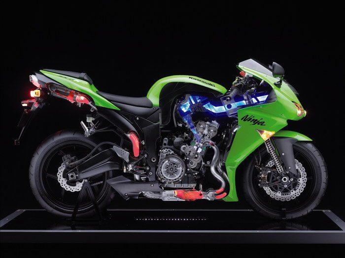 Kawasaki ZX-6RR 600 2007 - 9