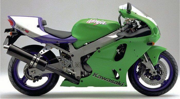 Kawasaki 750 ZX-7 RR  1996 - 4
