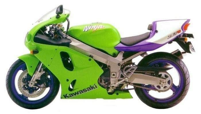 Kawasaki 750 ZX-7 RR  1996 - 2