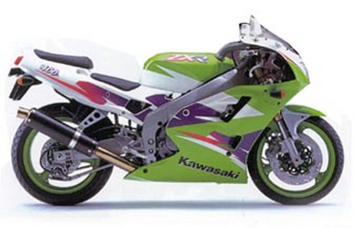Kawasaki ZXR 400 R 1992 - 9