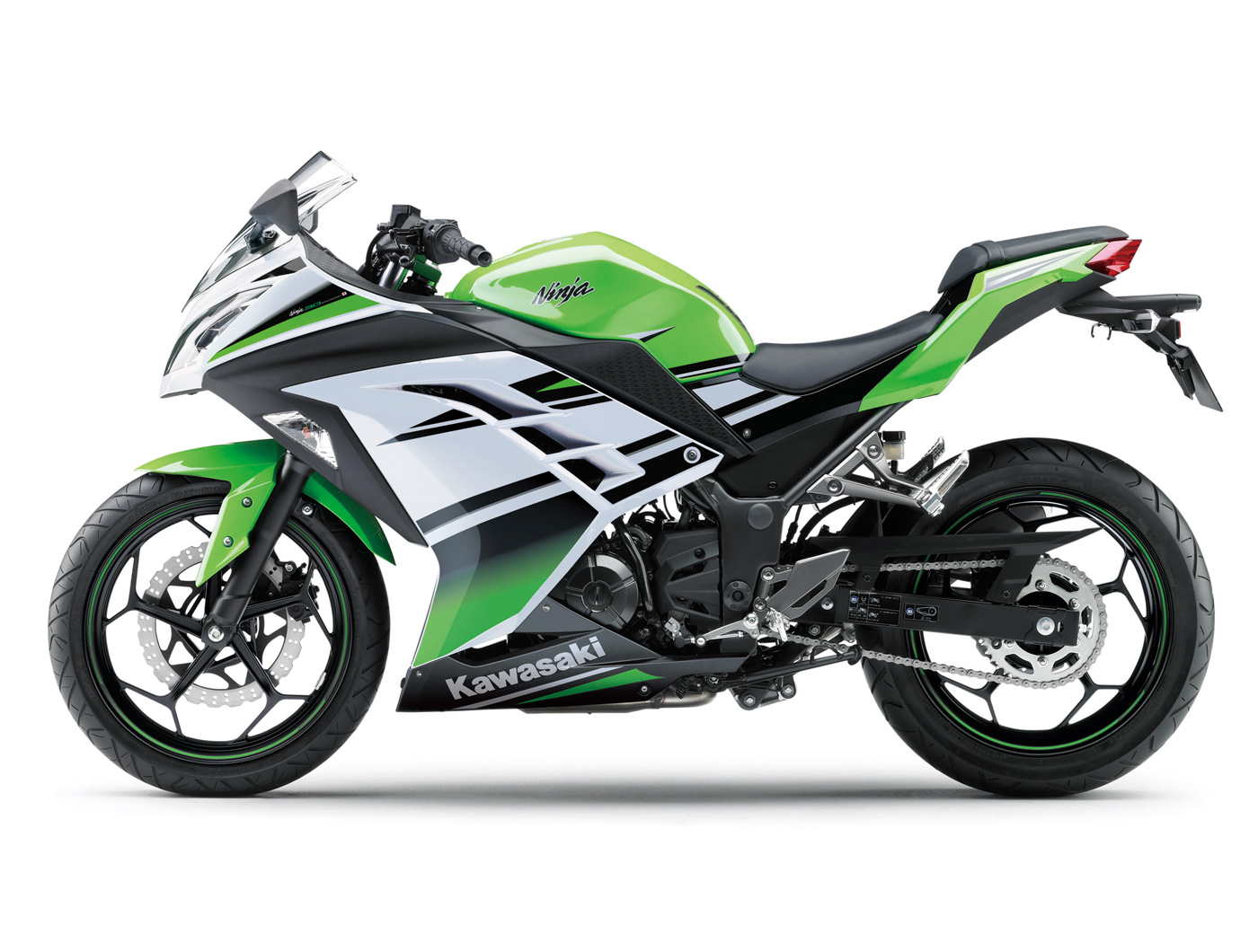 Kawasaki Ninja 300 R 30ème anniversaire 2015 - 11