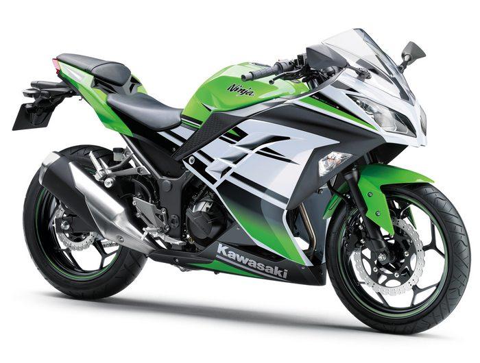 Kawasaki Ninja 300 R 30ème anniversaire 2015 - 10