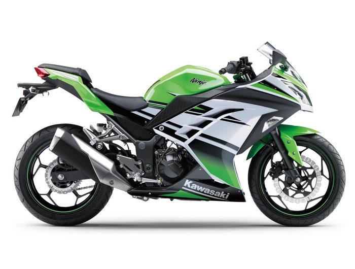 Kawasaki Ninja 300 R 30ème anniversaire 2015 - 8