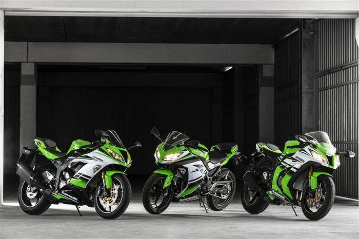 Kawasaki Ninja 300 R 30ème anniversaire 2015 - 4