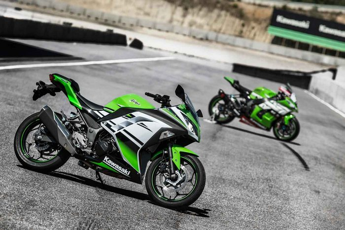 Kawasaki Ninja 300 R 30ème anniversaire 2015 - 12