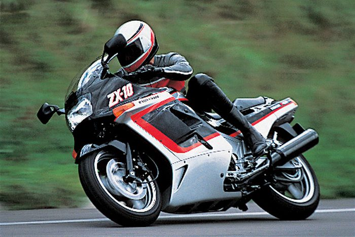 kawasaki zx-10 1000 tomcat 1990 - galerie moto