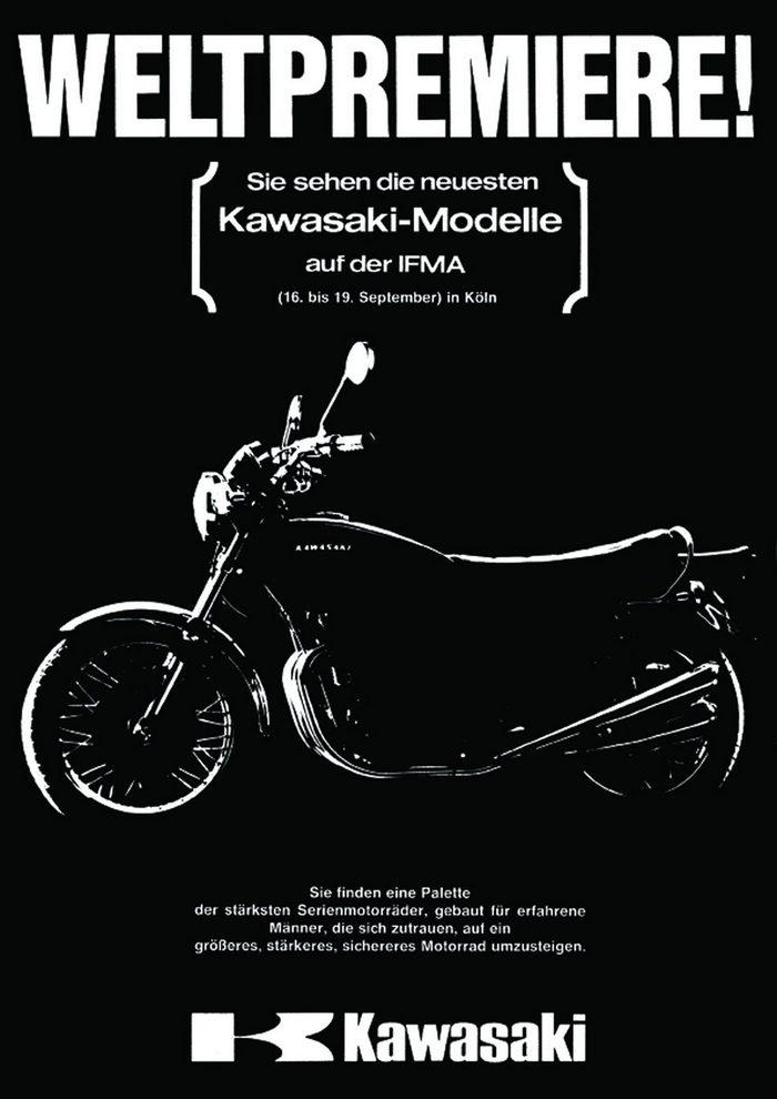 Kawasaki 900 Z1 1972 - 1