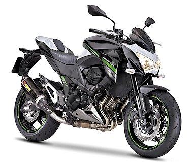 Kawasaki Z 800 Performance 2016