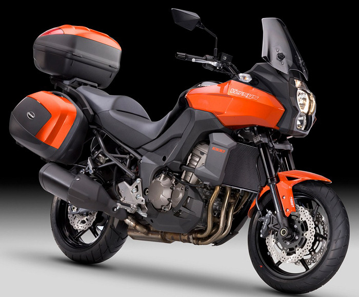 kawasaki versys 1000 grand tourer 2013 fiche moto motoplanete. Black Bedroom Furniture Sets. Home Design Ideas