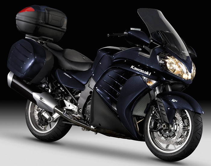 kawasaki 1400 gtr grand tourer edition 2012 fiche moto motoplanete. Black Bedroom Furniture Sets. Home Design Ideas