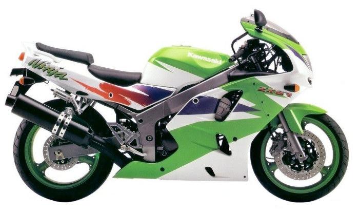 kawasaki zx 6r 600 1995 fiche moto motoplanete. Black Bedroom Furniture Sets. Home Design Ideas