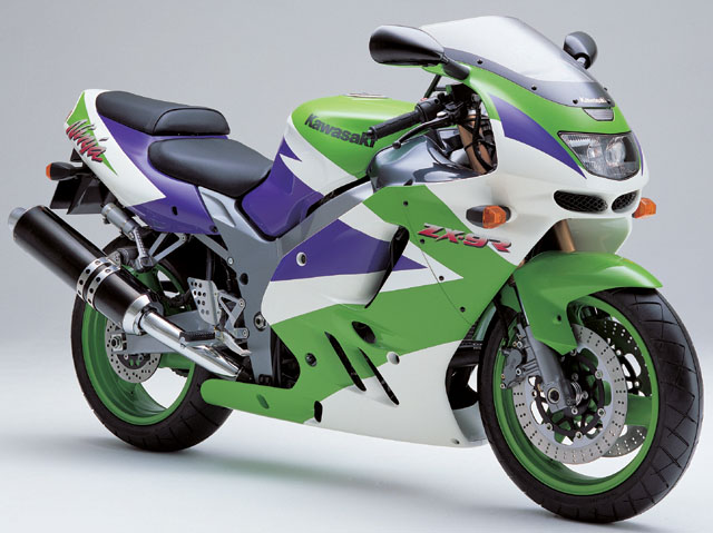 Kawasaki Ninja Hr Purple