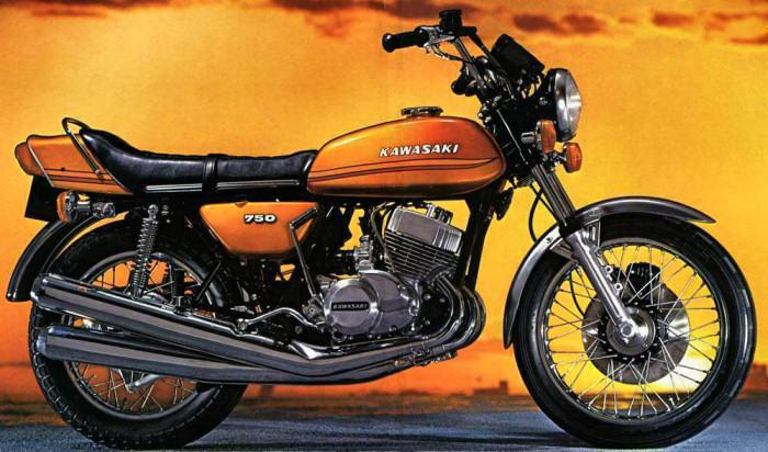 kawasaki h2 750 mach iv 1973 fiche moto motoplanete. Black Bedroom Furniture Sets. Home Design Ideas