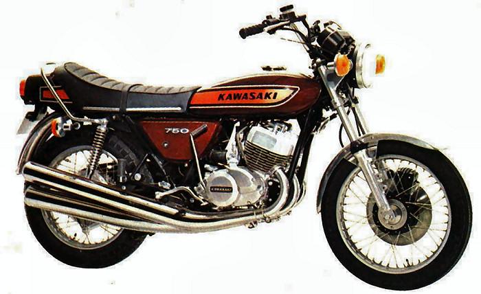 kawasaki h2 750 mach iv 1975 fiche moto motoplanete. Black Bedroom Furniture Sets. Home Design Ideas