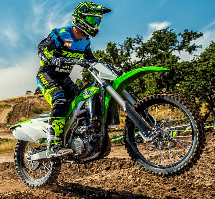 kawasaki kx 450 f 2018 fiche moto motoplanete. Black Bedroom Furniture Sets. Home Design Ideas