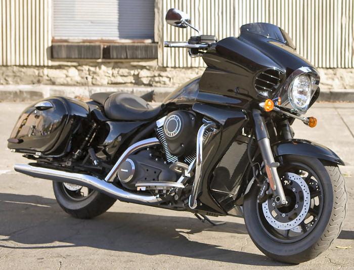 kawasaki vn 1700 voyager custom 2014 fiche moto motoplanete. Black Bedroom Furniture Sets. Home Design Ideas