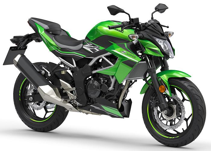 Kawasaki z 125 2019 fiche moto motoplanete - Image moto sportive ...