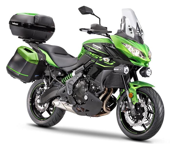 kawasaki versys 650 special edition grand tourer 2017 fiche moto motoplanete. Black Bedroom Furniture Sets. Home Design Ideas