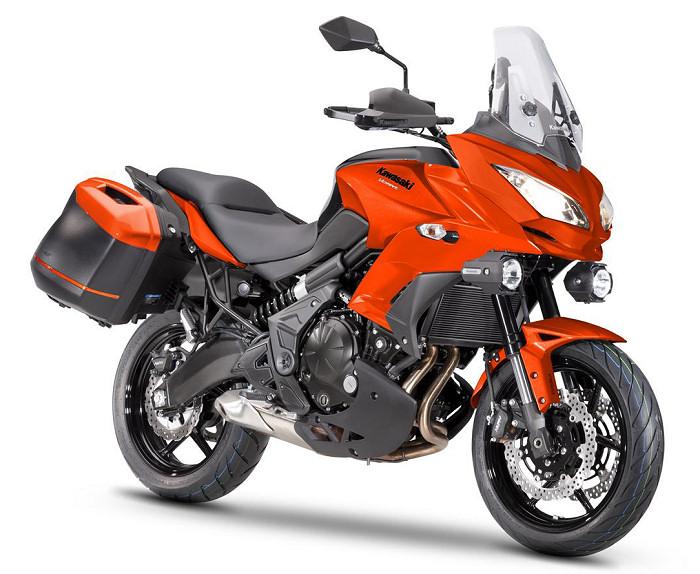 kawasaki versys 650 tourer plus 2016 fiche moto motoplanete. Black Bedroom Furniture Sets. Home Design Ideas
